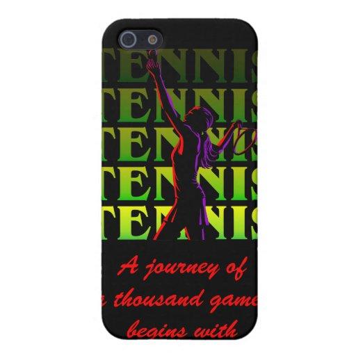 iPhone Case Women's Tennis 1 YG Dark Cases For iPhone 5