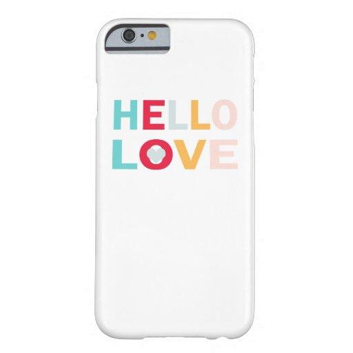 iPhone Cases - Hello Love