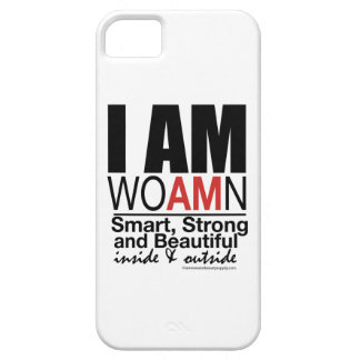 IPHONE Cases: I AM WOAMN iPhone 5 Case