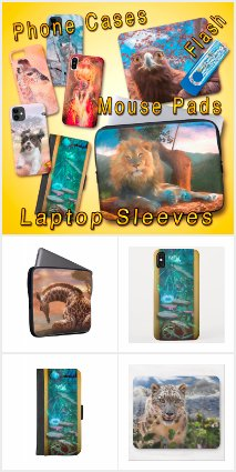 iPHONE CASES * MOUSE PADS * LAPTOP SLEEVES