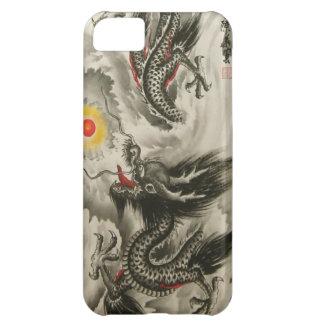 iPhone chino 5 de la pintura del dragón, Funda Para iPhone 5C