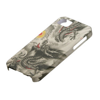 iPhone chino 5 de la pintura del dragón, iPhone 5 Carcasa