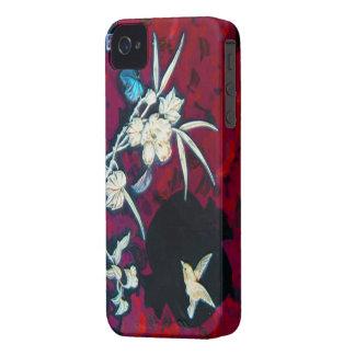 iphone chino del pájaro funda para iPhone 4 de Case-Mate