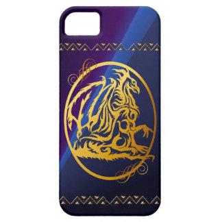 iPhone circundado dragón del oro 5 casos Funda Para iPhone SE/5/5s