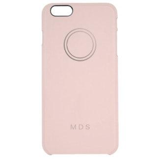 iPhone claro color de rosa rosado personalizado Funda Clear Para iPhone 6 Plus