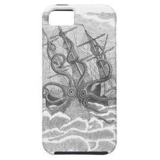 iPhone clasificado estupendo 5 de Kraken del sushi iPhone 5 Carcasa