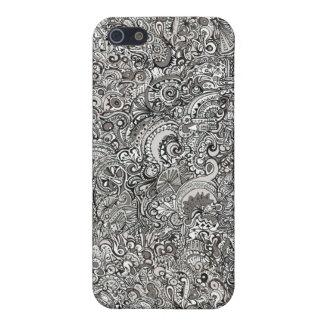 iPhone Cloth Insert Hard Case iPhone 5 Case