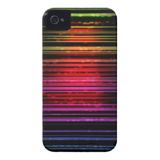 iPhone colorido 4/4s del modelo del espectro Case-Mate iPhone 4 Cárcasas