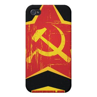 iPHone comunista iPhone 4 Protectores