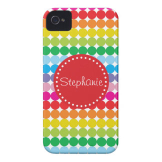 iPhone conocido 4/4s de los lunares coloridos del iPhone 4 Case-Mate Cárcasa