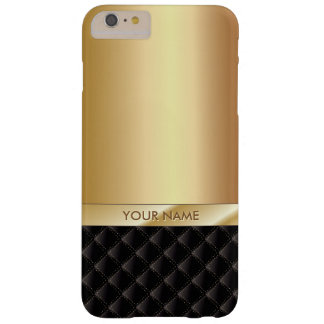 iPhone conocido de encargo 6/6S del oro de lujo Funda Barely There iPhone 6 Plus