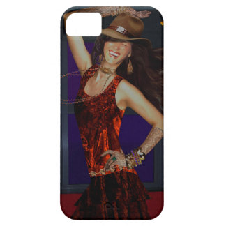 iphone cover, cowgirl with dancing dogs iPhone SE/5/5s case