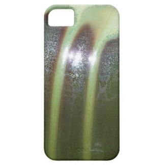 iPhone Cover - Green Drip Glaze