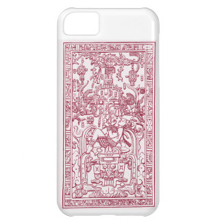 iphone cover of King Pacal the Ancient Astronut iPhone 5C Cases