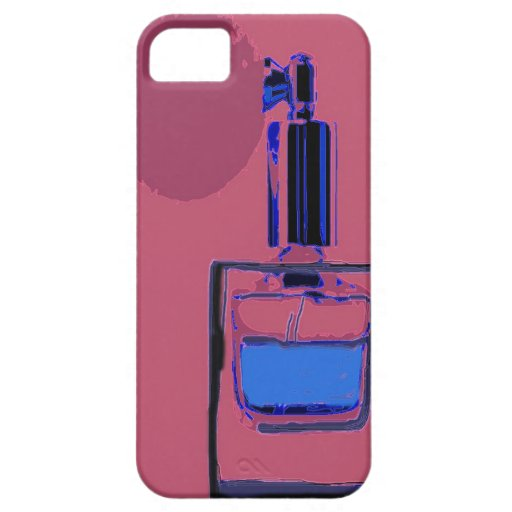 iPhone Cover pink with perfume bottle iPhone 5 Cases