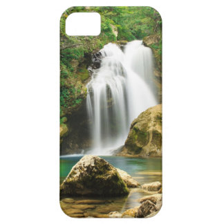 iPhone Cover; Waterfall, Vintgar Canyon, Slovenia iPhone 5 Cover