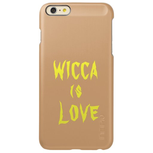 iPhone cover wicca is love