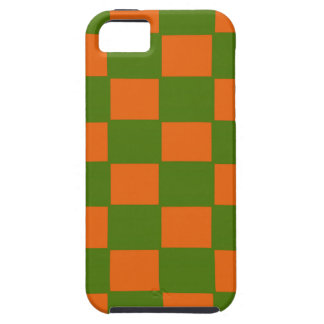iPhone Covering - Green and Orange Shah Design iPhone SE/5/5s Case