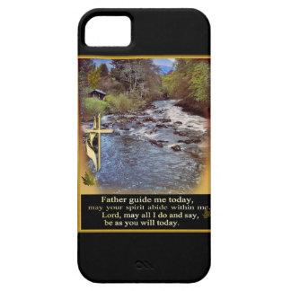 Iphone cristiano 5/5s del rezo iPhone 5 carcasas