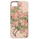iPhone cristiano de los rosas de Klein 5 puntos Funda Para iPhone 5 Barely There