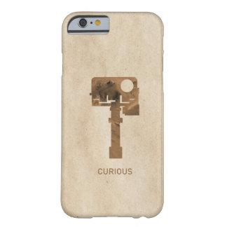 iPhone curioso - Brown Funda De iPhone 6 Slim