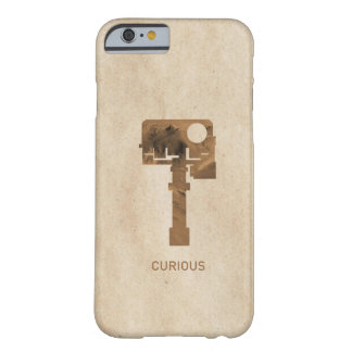iPhone curioso - Brown Funda De iPhone 6 Barely There