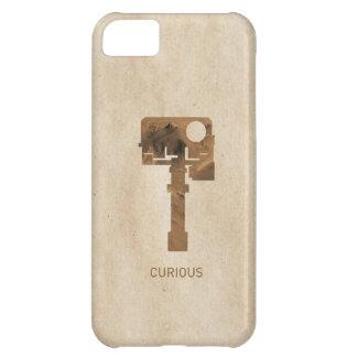 iPhone curioso - Brown Funda Para iPhone 5C