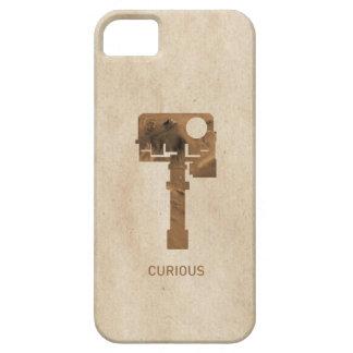 iPhone curioso - Brown iPhone 5 Fundas