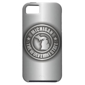 "iPhone de acero de ""Michigan"" 5 casos Funda Para iPhone 5 Tough"