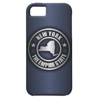"""iPhone de acero de """"Nueva York"""" 5 casos (azules) Funda Para iPhone SE/5/5s"""