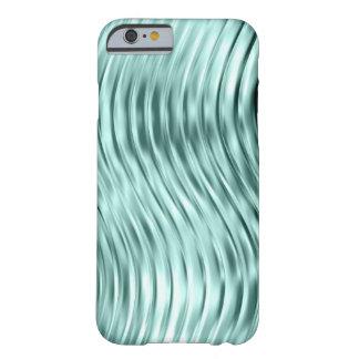 iPhone de cristal curvado verde 6 del hielo Funda Barely There iPhone 6