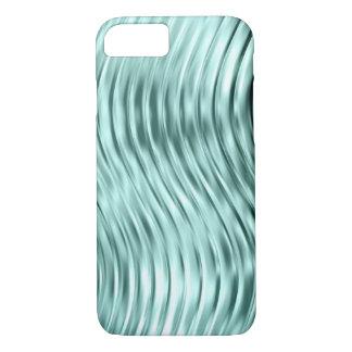 iPhone de cristal curvado verde 7 del hielo Funda iPhone 7