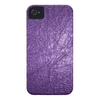 iPhone de cuero púrpura 4/4s de la mirada Case-Mate iPhone 4 Cobertura