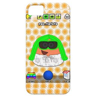 iPhone de encargo 5 de Pou Fiofofo iPhone 5 Case-Mate Cárcasas