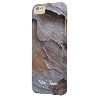 iPhone de encargo 6/6s de la corteza del pino más Funda Para iPhone 6 Plus Barely There