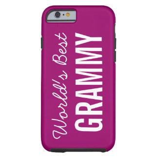 iPhone de encargo 6 de Grammy del mundo de la baya Funda De iPhone 6 Tough