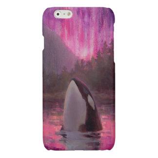 iPhone de encargo 6 de la orca de la orca rosada