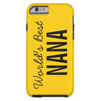 iPhone de encargo 6 de Nana del mundo del oro el Funda De iPhone 6 Tough