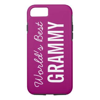 iPhone de encargo 7 de Grammy del mundo de la baya Funda iPhone 7