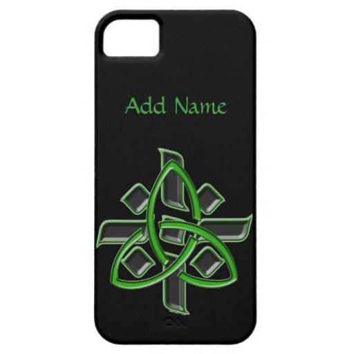 iPhone de encargo de la cruz céltica 5 casos iPhone 5 Case-Mate Funda