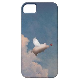 iPhone de encargo del cerdo del vuelo 5 casos iPhone 5 Case-Mate Cárcasas