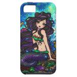 iPhone de hadas del arte de la sirena de la fantas iPhone 5 Case-Mate Cárcasas