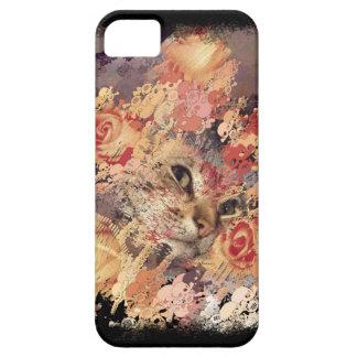 Iphone de Halloween de los cráneos de los rosas de iPhone 5 Funda