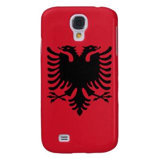 iPhone de la bandera de Albania Funda Para Galaxy S4