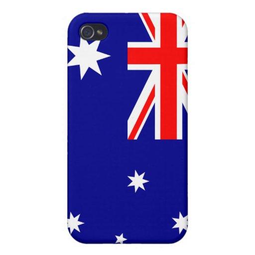 iPhone de la bandera de Australia iPhone 4 Coberturas