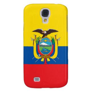 iPhone de la bandera de Ecuador Funda Para Galaxy S4