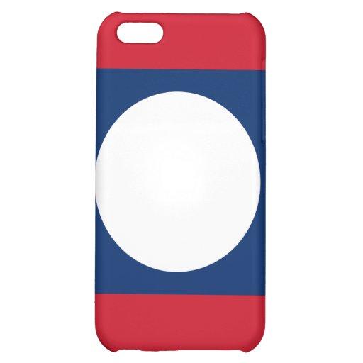 iPhone de la bandera de Laos