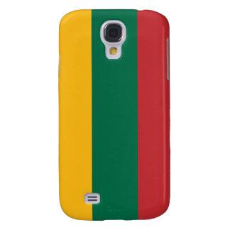 iPhone de la bandera de Lituania Funda Para Galaxy S4