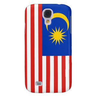 iPhone de la bandera de Malasia Funda Para Galaxy S4