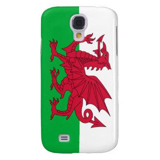 iPhone de la bandera de País de Gales Funda Para Galaxy S4